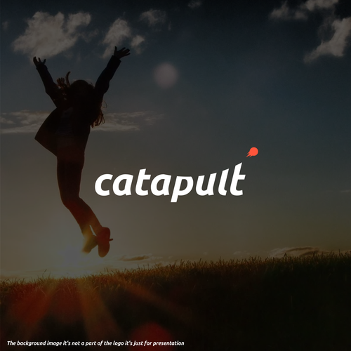 Powerful logo with the title 'catapult'