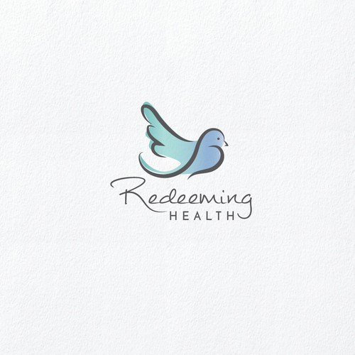 Faith design with the title 'Organic and hand drawn logo for a health coach'