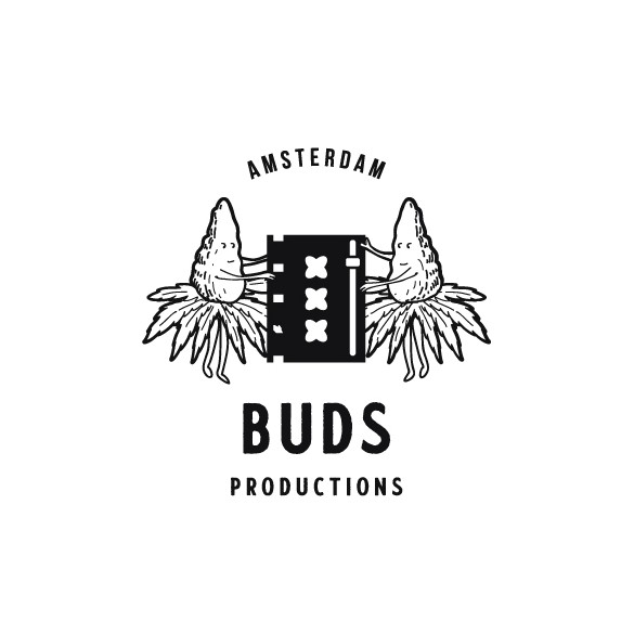 Amsterdam design with the title 'Buds Productions'