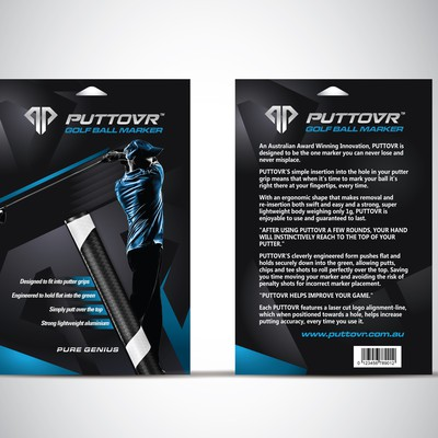 PUTTOVR CARD DESIGN