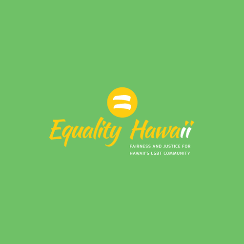 Equality design with the title 'Logo Concept for Equality Hawaii'