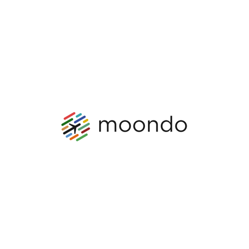 Plane logo with the title 'Logo for Moondo'
