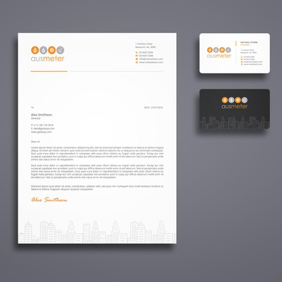 Modern Creative Stationery Design