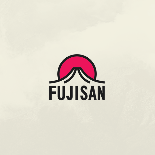 Asian design with the title 'FUJISAN [Version 2]'