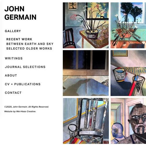 Miami design with the title 'John Germain Desgin'