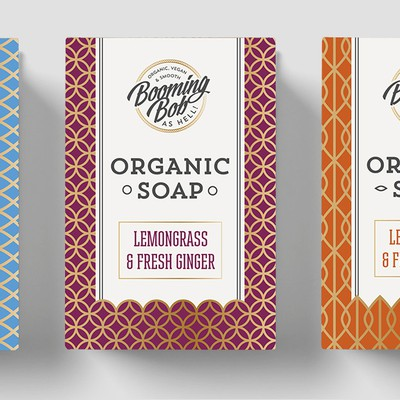 Create the most innovative packaging and logo for organic soaps