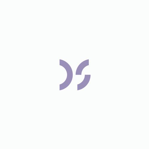 Amazing design with the title 'Modern minimalist monogram'