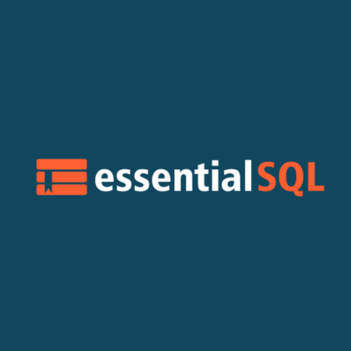 Database logo with the title 'SQL School'