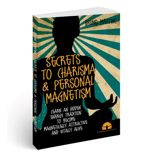 Blue book cover with the title 'Charisma Book Cover!'