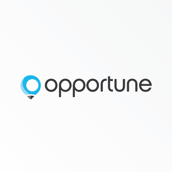 Task design with the title 'Logo for Opportune'