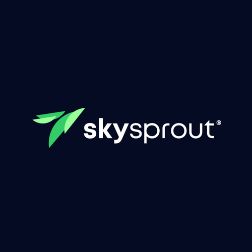 Up logo with the title 'SkySprout'