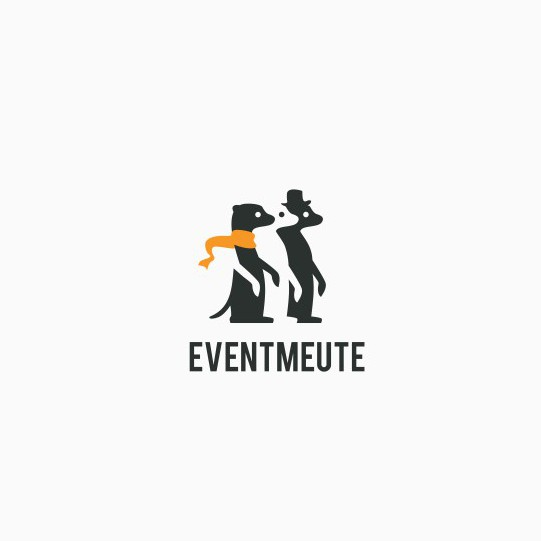 Page logo with the title 'eventmeute logo'