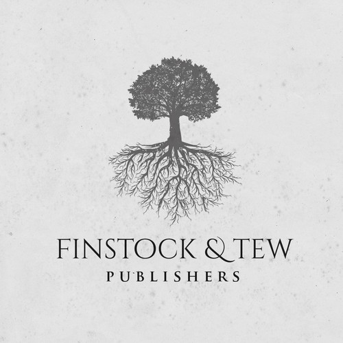 Publishing logo with the title 'Tree logo'