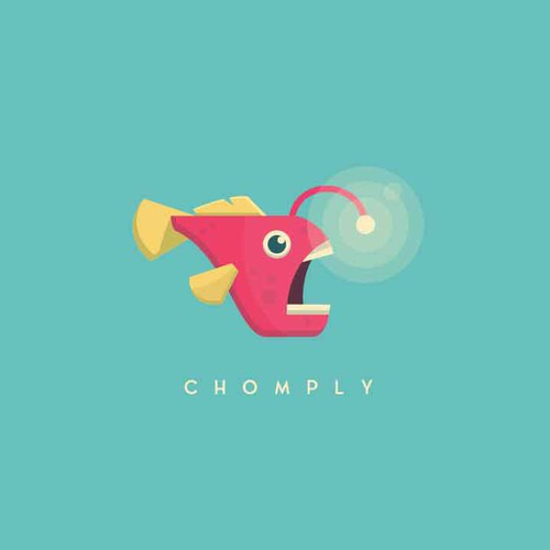 Caviar logo with the title 'Chomply'