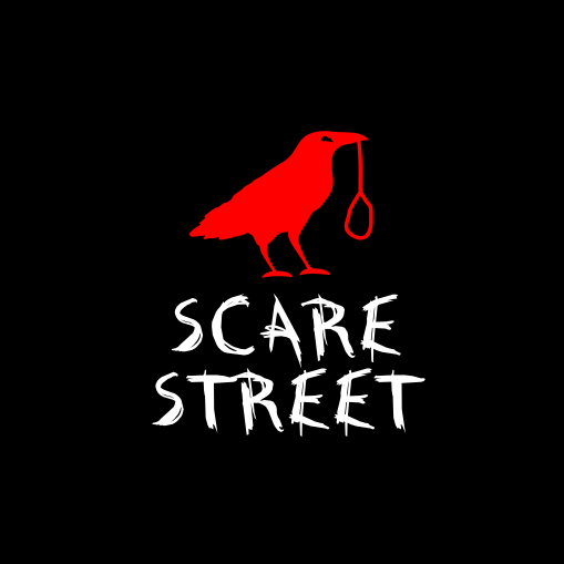 Terror design with the title 'SCARE STREET'