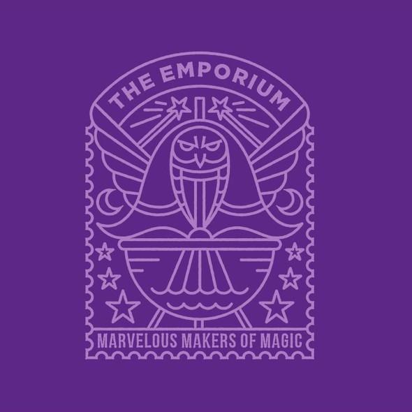 Harry Potter design with the title 'Emporium'