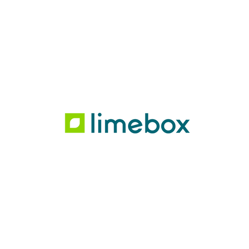 Typography brand with the title 'Minimalist logo for Limebox'