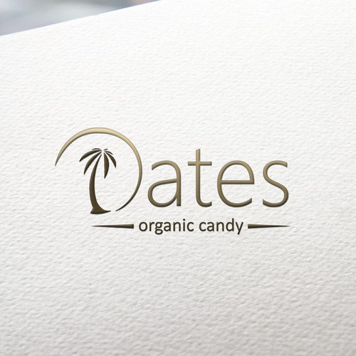 Candy brand with the title 'iDates logo design'