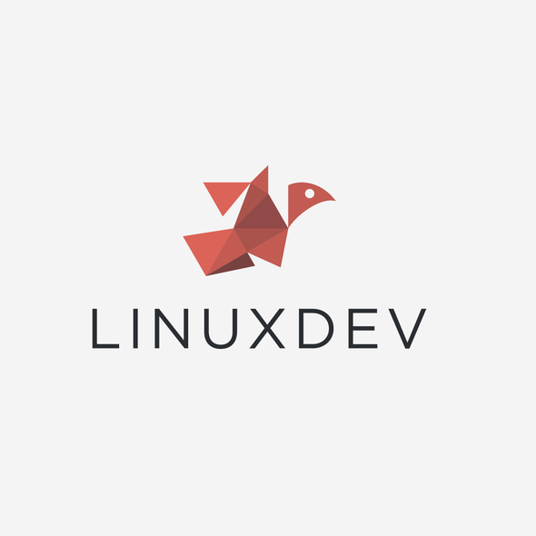 Freedom design with the title 'Logo designs for LinuxDev !'