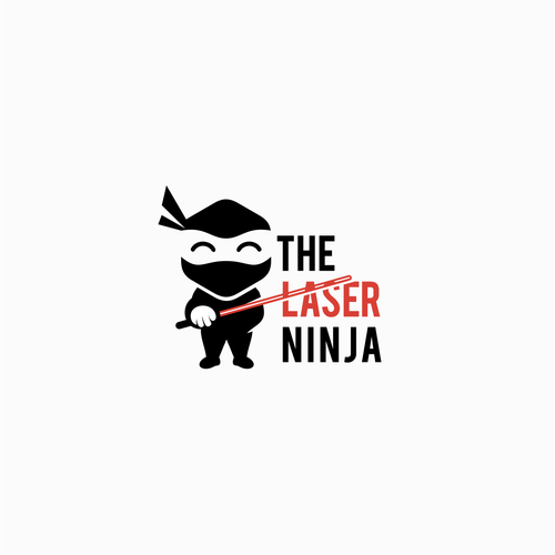 Laser logo with the title 'Ninja'
