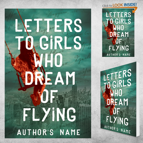 Dream design with the title 'Letters to Girls Who Dream of Flying'