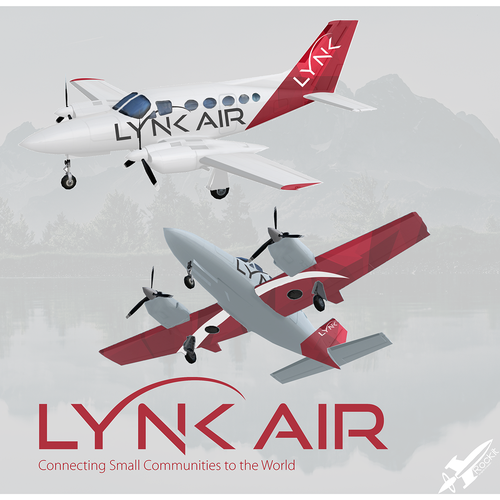 Livery design with the title 'Airplane Livery for Regional Airline'