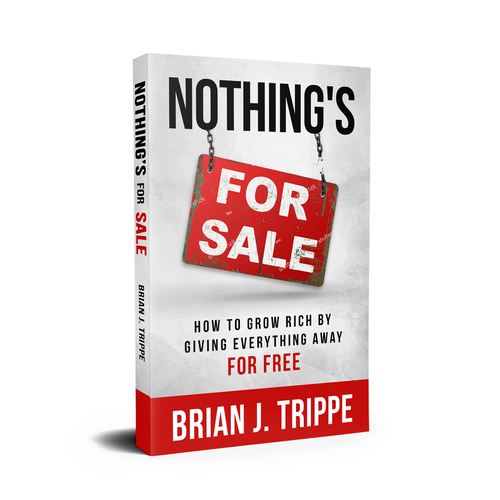"Financial book cover with the title 'Book Cover for ""Nothing's For Sale""'"