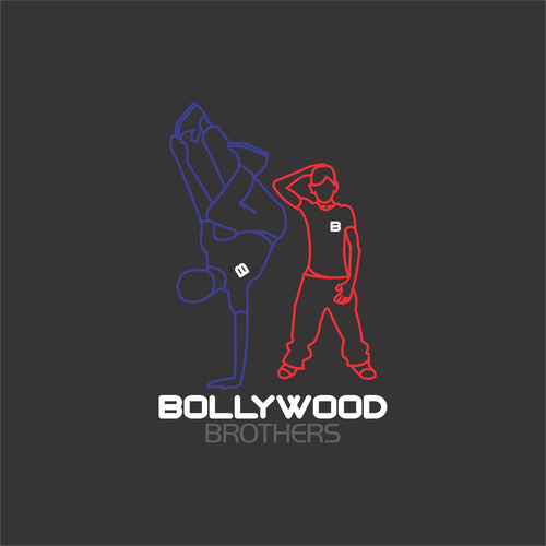 Brotherhood logo with the title 'Bollywood Brothers'