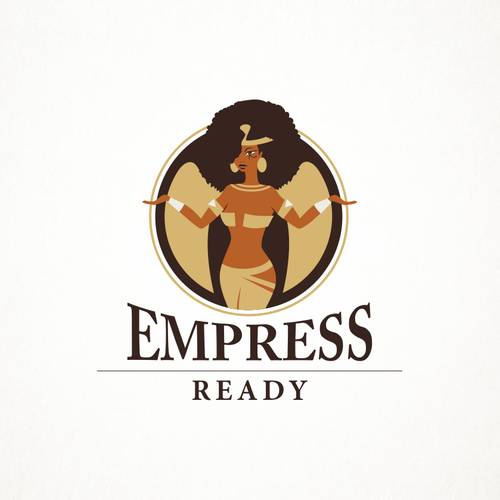 Queen design with the title 'Empress'