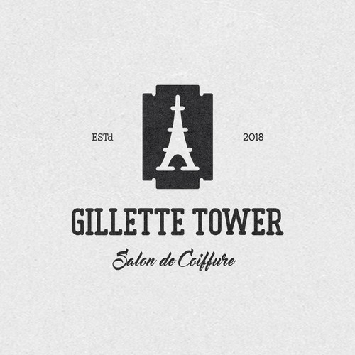 Icon logo with the title 'Gillette Tower'