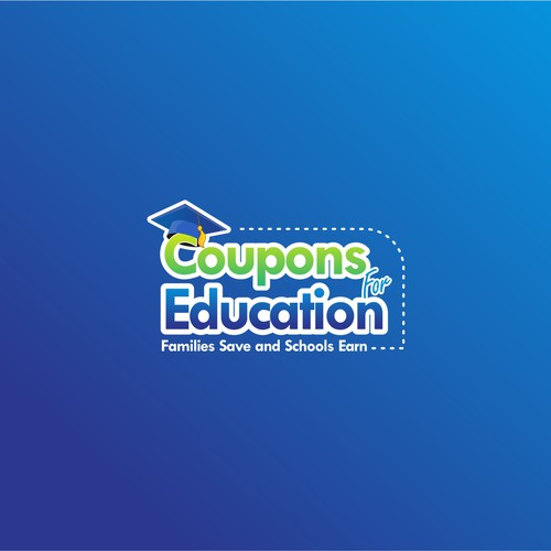 Coupon company logo with the title 'New logo wanted for Coupons For Education'