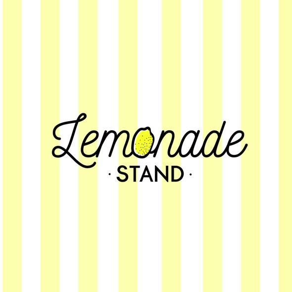 Lemonade logo with the title 'Logo Design for Lemonade Stand '