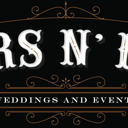 Wedding photography logo with the title 'Wedding and event company'