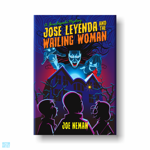 Detective book cover with the title 'Jose Leyenda Mysteries  Book 1'