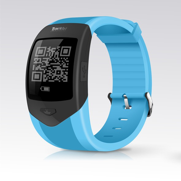 Tracker design with the title 'Baby Bracelet Tracker'