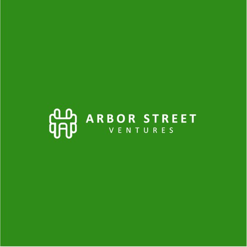 Knot design with the title 'Arbor Street Ventures Logo Design'