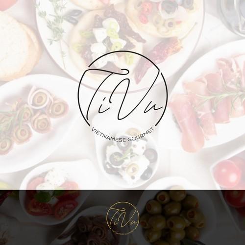 Gourmet brand with the title 'TiVu Vietnamese Gourmet'