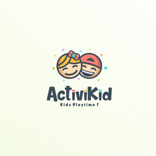 Professional logo with the title 'Fun logo for ActiviKid'