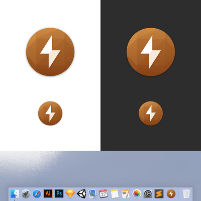 Coconut Battery MacOS App Icon