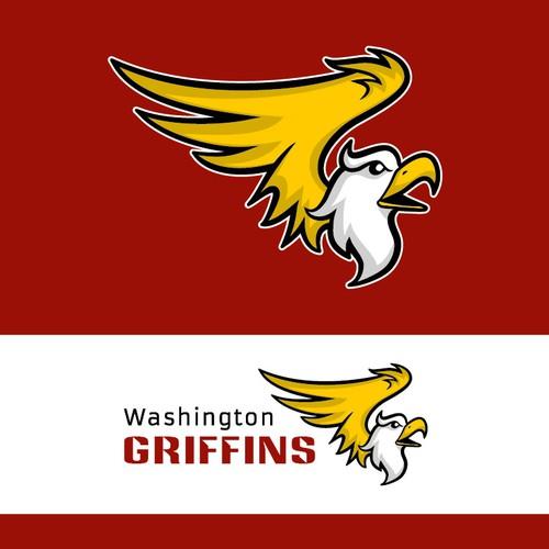 Griffin design with the title 'Washington Grif'