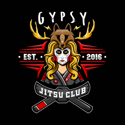 Deer logo with the title 'Gypsy Logo'