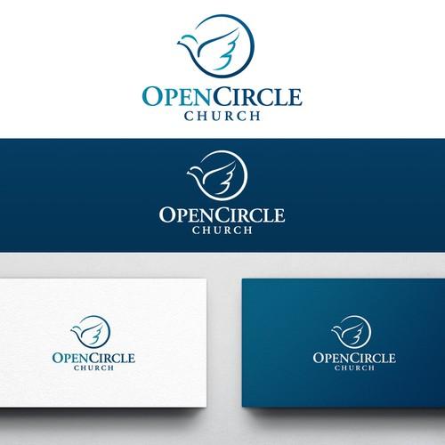 Precious logo with the title 'Logo for Open Circle Church'