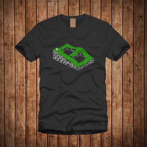 Golf t-shirt with the title 'Tess Design '