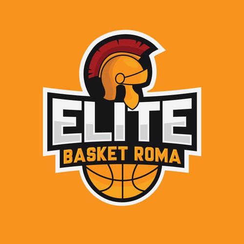 Elite logo with the title 'Elite Basket Roma'