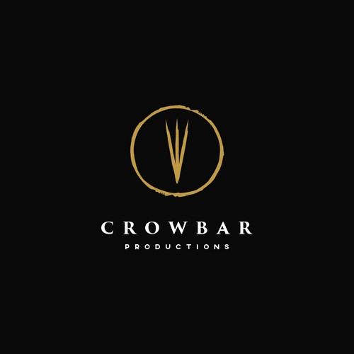 Claw design with the title 'Crowbar Productions Logo'