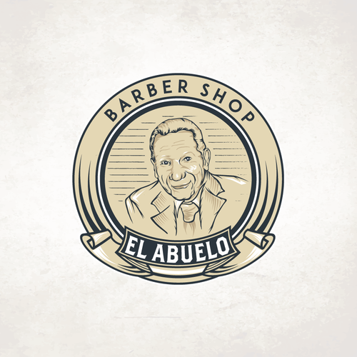 Illustrated design with the title 'El Abuelo'