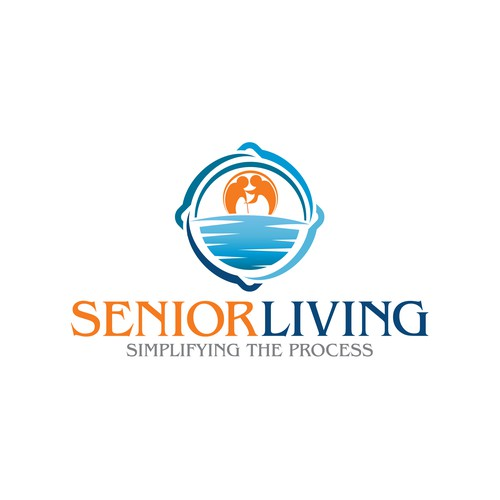 Senior living design with the title 'Senior Living'