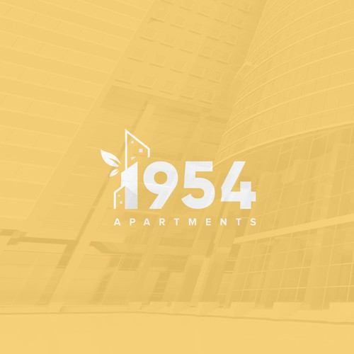 Living logo with the title '1954 APARTMENTS'