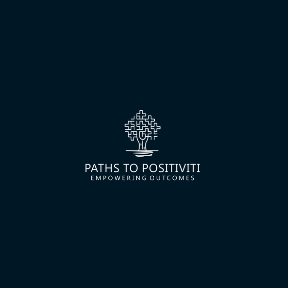 Treatment logo with the title 'Logo for Paths to Positiviti.'