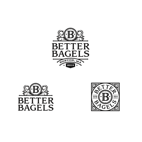 Merchant logo with the title 'Better Bagels'
